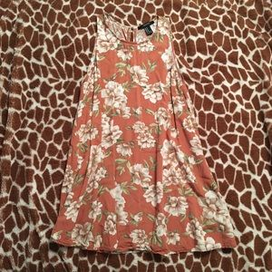 Forever 21 Floral Trapeze Dress